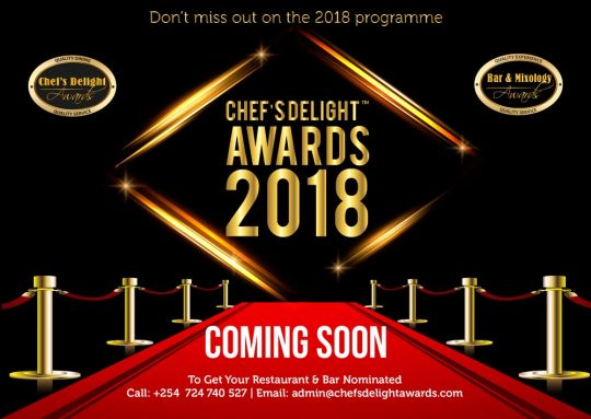 Chef's Delight Awards