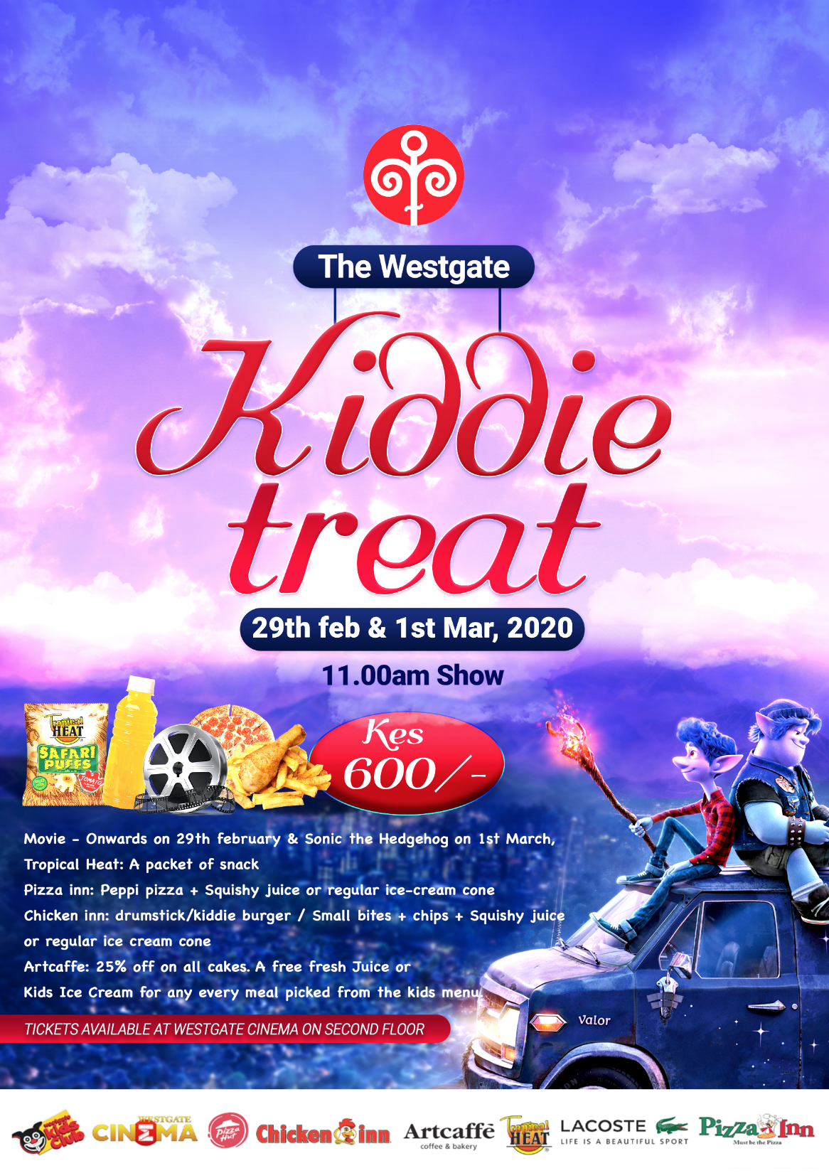 Westgate Kiddie Treat- 29th February & 1st March 2020