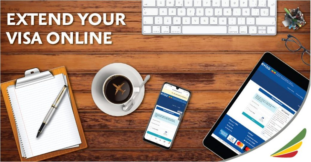 Ethiopian Airlines - Extend Your E-Visa Online