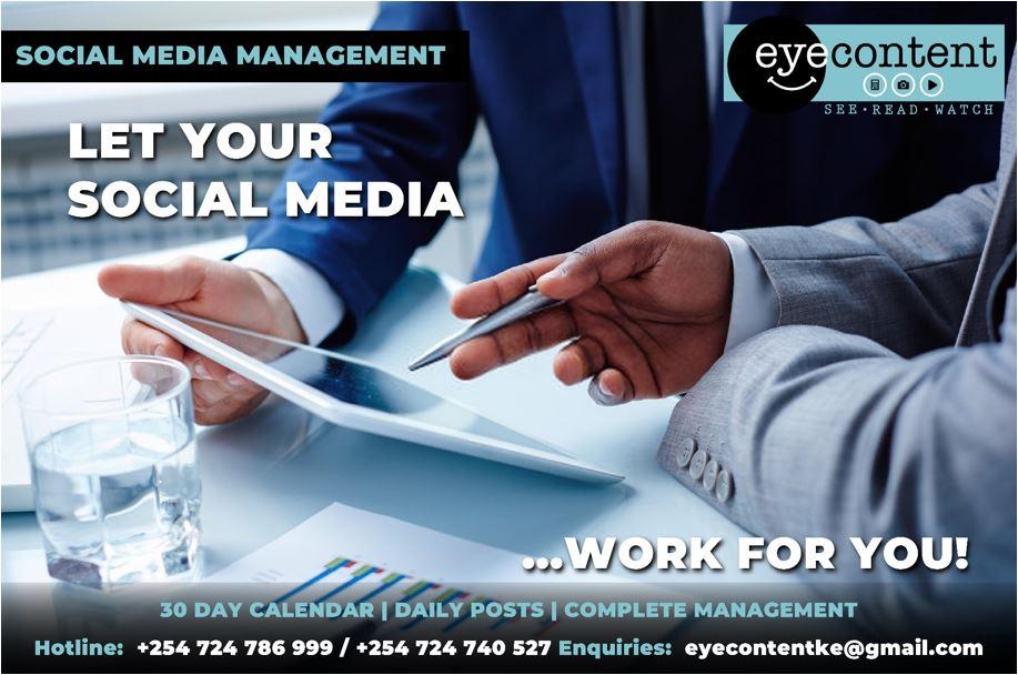 EyeContentKE Social Media Solutions
