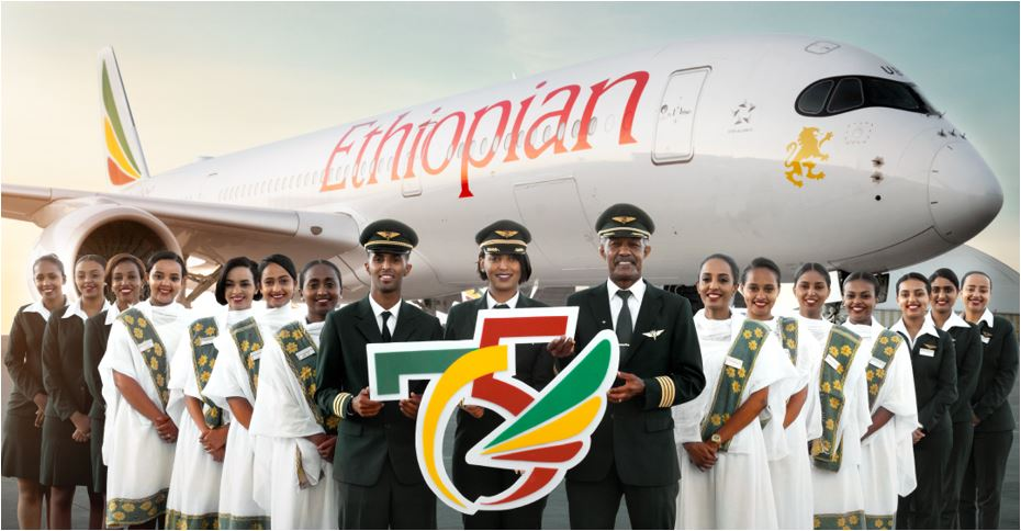 Ethiopian Airlines Marks 75th Anniversary
