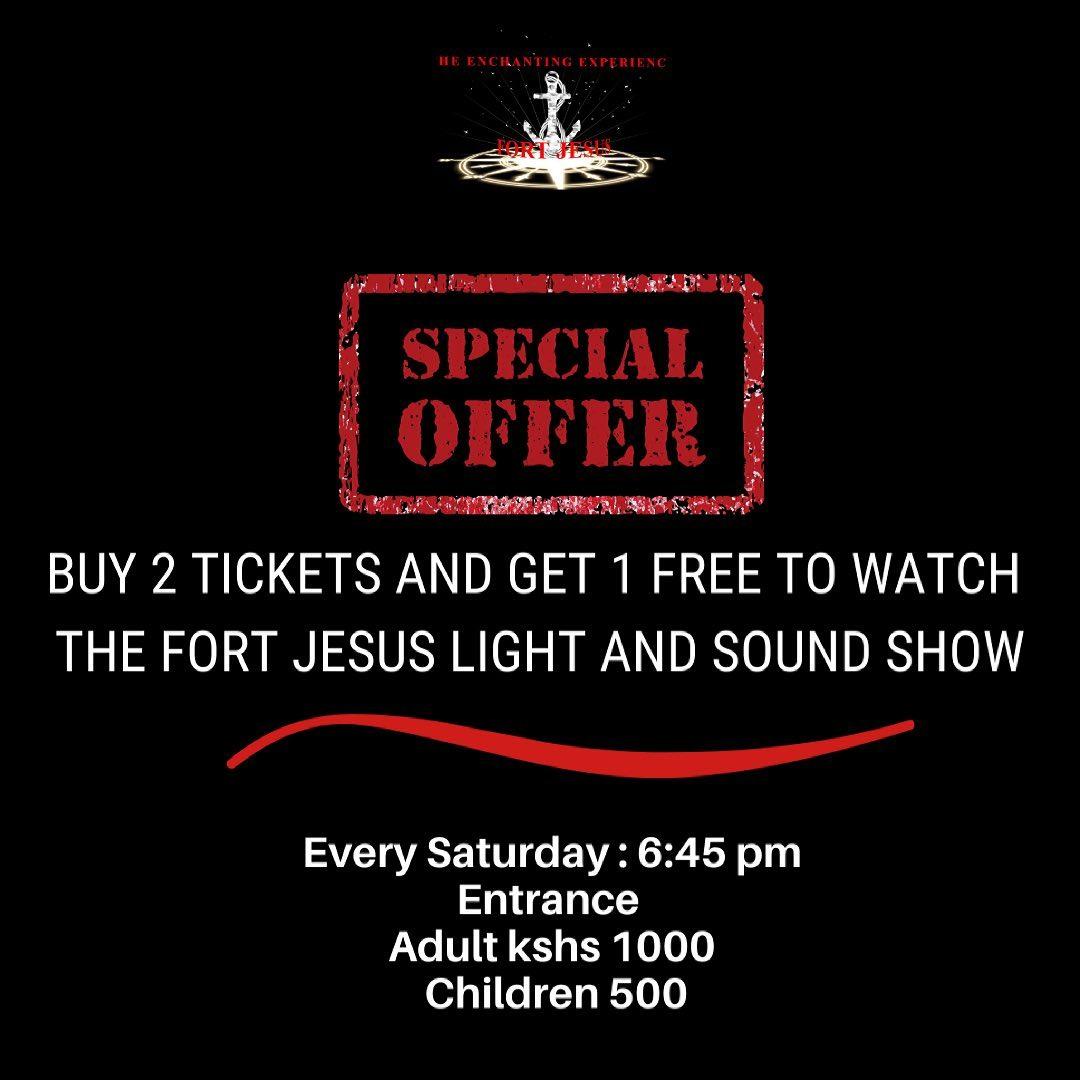 Fort Jesus Mombasa Sound & Light Show Mombasa Ramadhan Offer