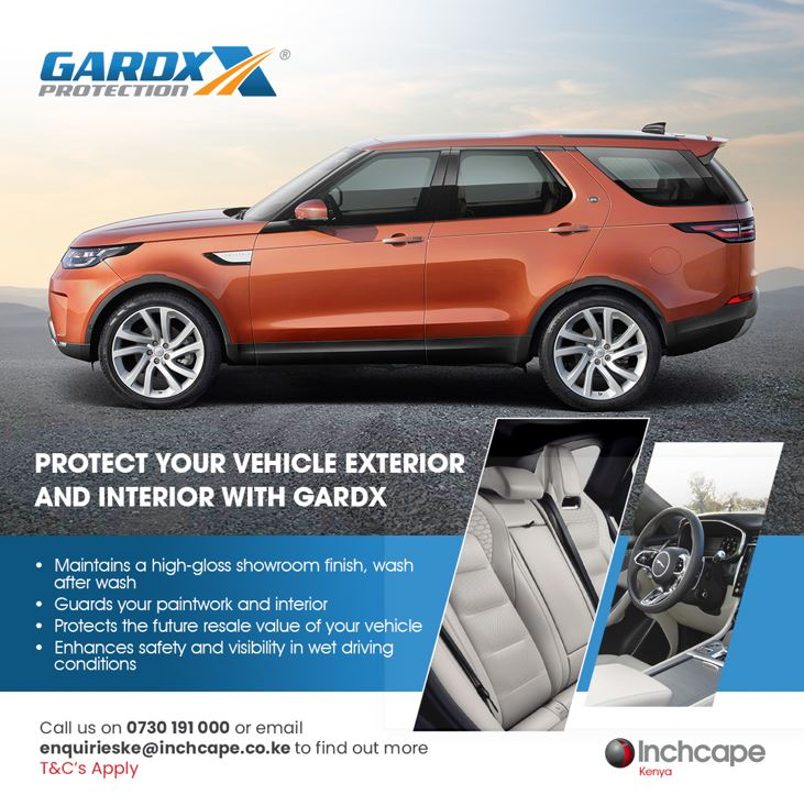 Gard X Protection for your Vehicle with Inchcape Kenya