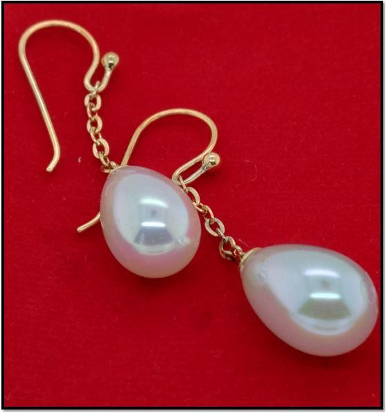 Classic Majorika Pearl Earring Design From Gemessence