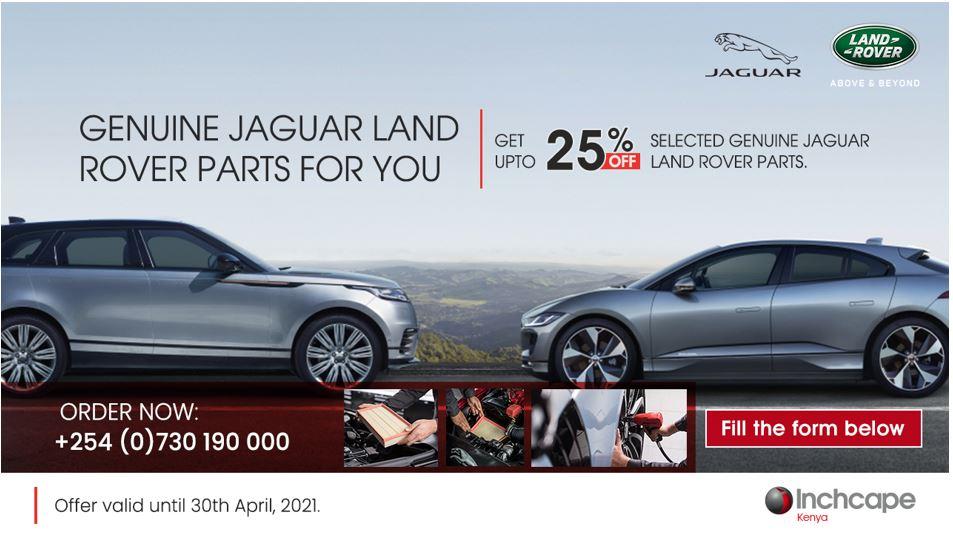 Genuine Jaguar Land Rover Parts