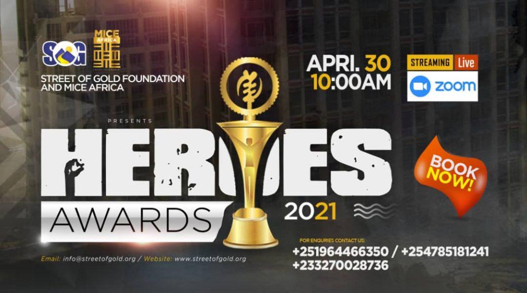 Heroes Awards 2021 - Africa MICE Awards, 30th April 2021