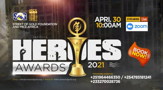 Heroes Awards 2021 - Africa MICE Awards, 30th April 2021