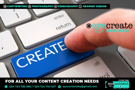 Content Creation Solutions By EyeContentKE