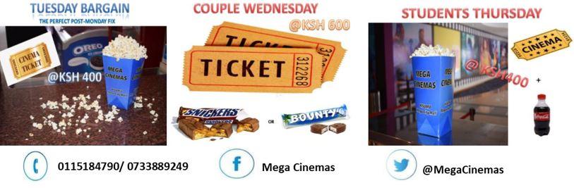 Mega Cinema Kisumu Theme Nights