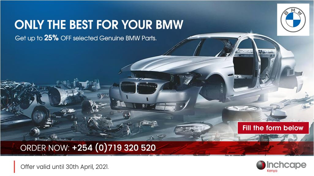 BMW Parts - Only The Best For You by Inchcape Kenya