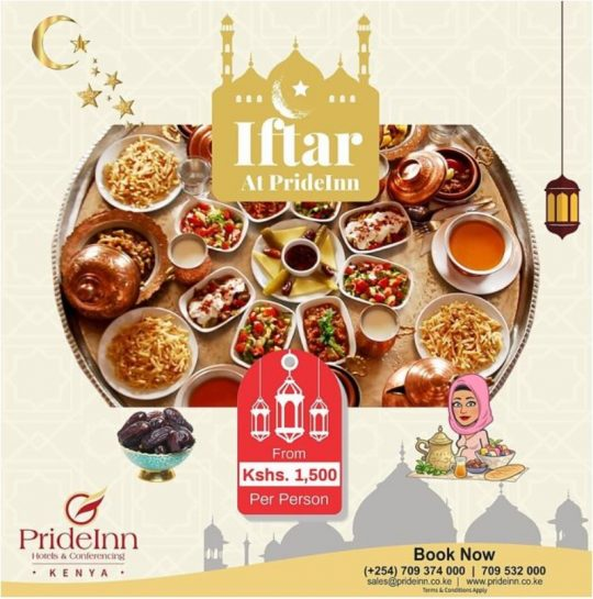 PrideInn Paradise Iftar Offer