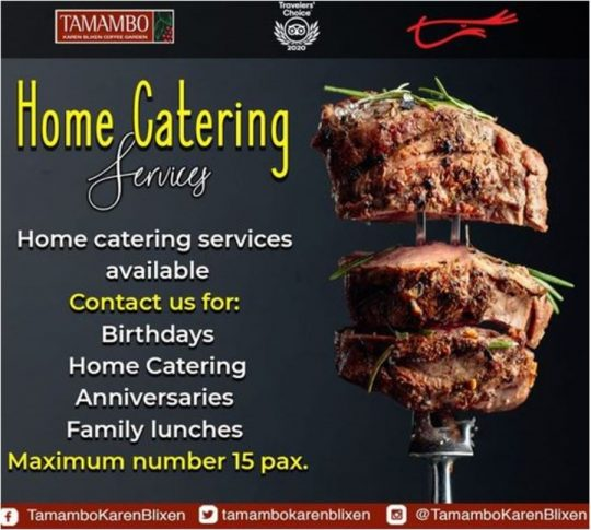 Tamambo Home Catering Service