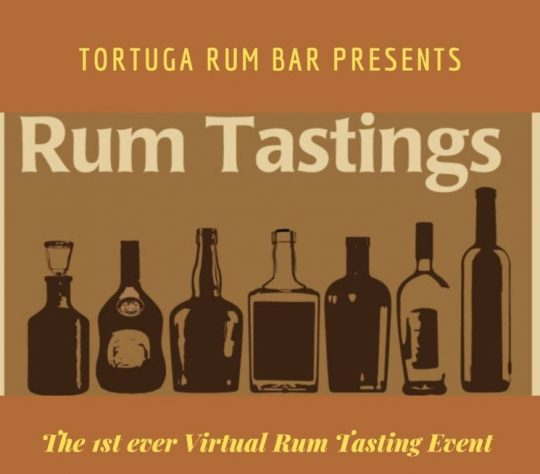 Virtual Rum Tasting by Tortuga Rum Bar Nairobi