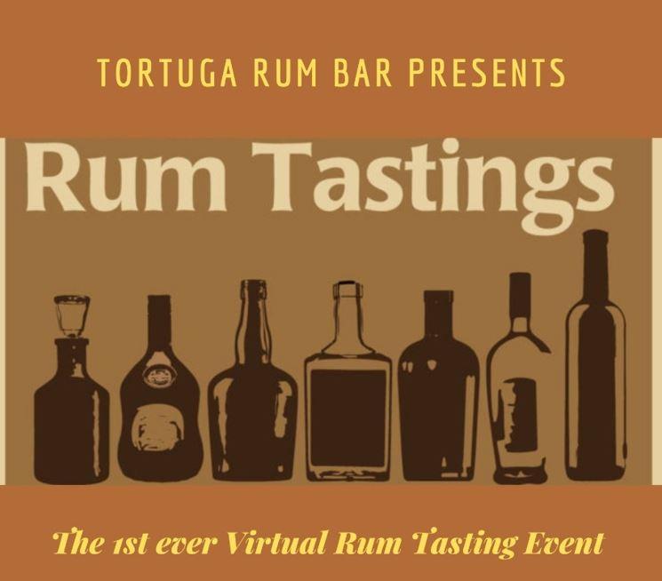 Virtual Rum Tasting by Tortuga Rum Bar Nairobi