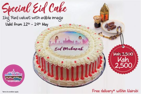 Eid Cakes From Cake City