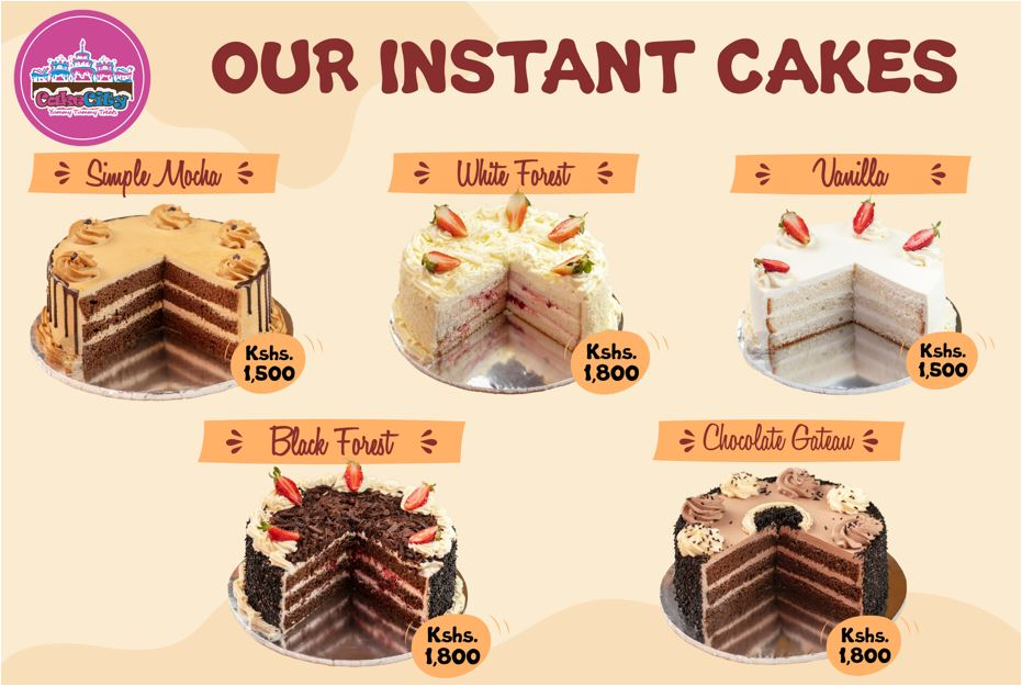 Instant Cakes Offer
