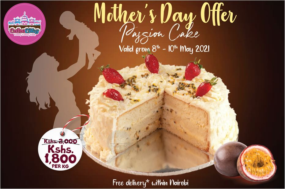 Cake City Mother's Day Passion Cake