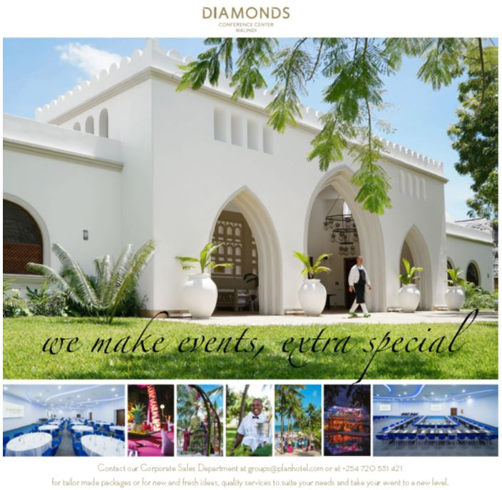 Malindi Conferencing with Plan Hotels
