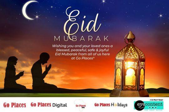 Eid Mubarak from Go Places Digital