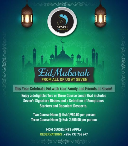 Eid Celebrations at Seven