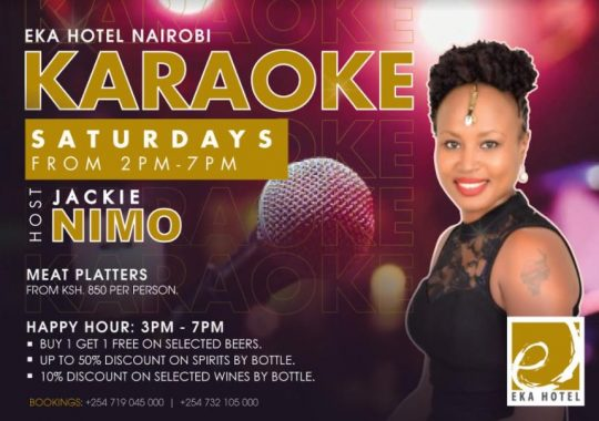 Karaoke Saturdays Eka Hotel Nairobi