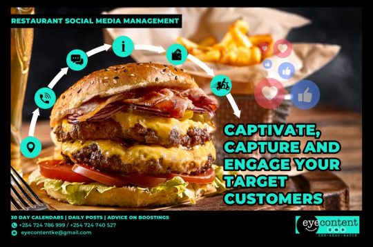 Restaurant Social Media Management Solutions – EyeContentKE