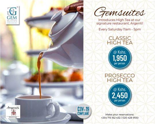 GemSuites and Argenti Restaurant