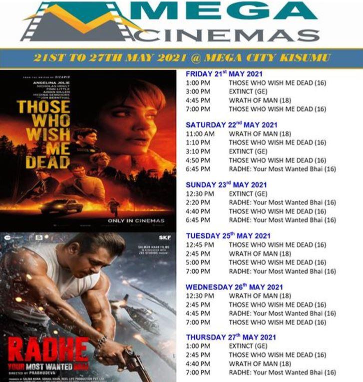 Mega Cinema Kisumu Week 20 Lineup