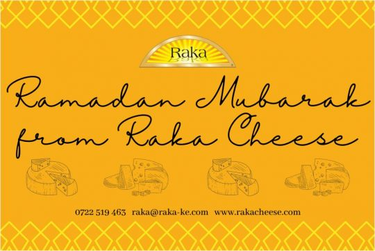 Ramadan Mubarak From Raka Cheese