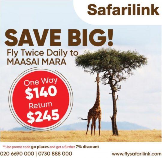 Big Savings with Safarilink