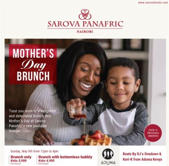 Mother's Day Brunch at The Sarova Panafric