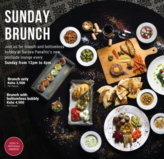 Sunday Brunch at Sarova Panafric