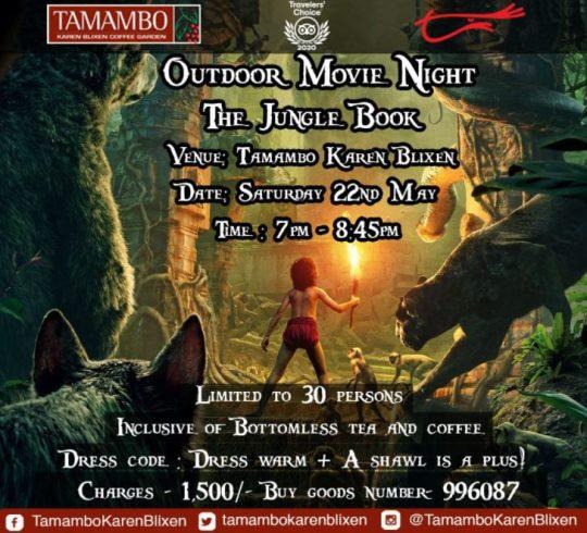Outdoor Movie Night At Tamambo Karen Blixen