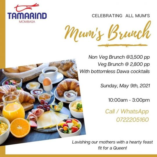 Mums Brunch Tamarind Mombasa