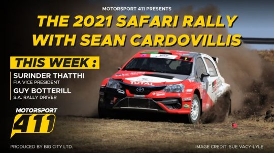 The 2021 Safari Rally with Sean Cardovillis