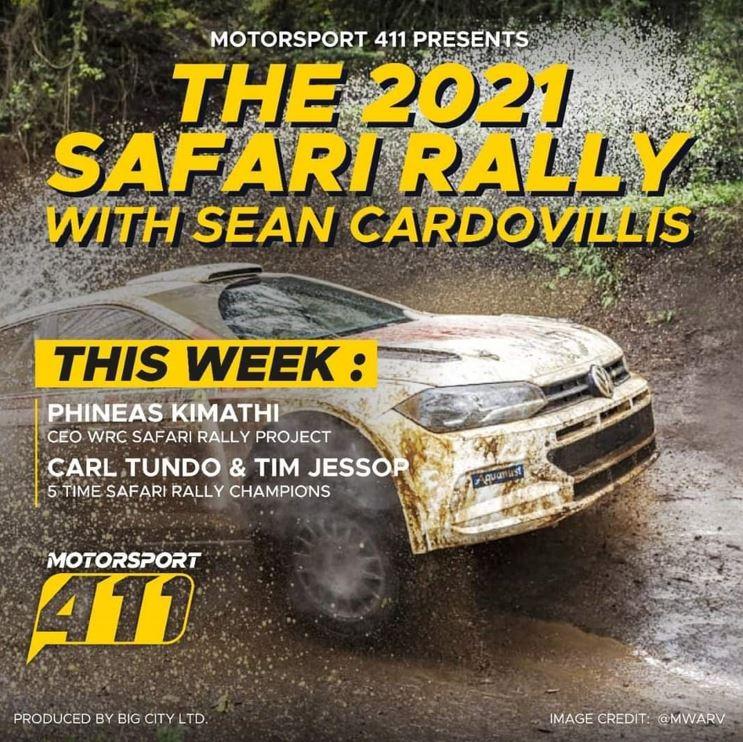 The 2021 Safari Rally with Sean Cardovillis Episode 2