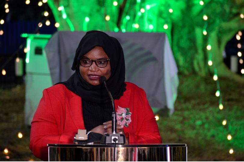 safina-kwekwe-giving-speech during meeting in kenya launch