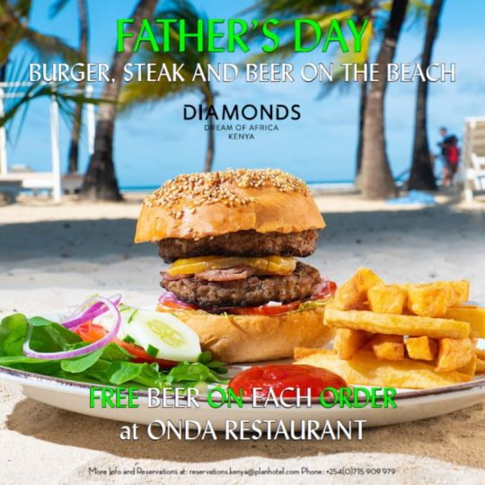 Father's Day On The Beach with ONDA Restaurant