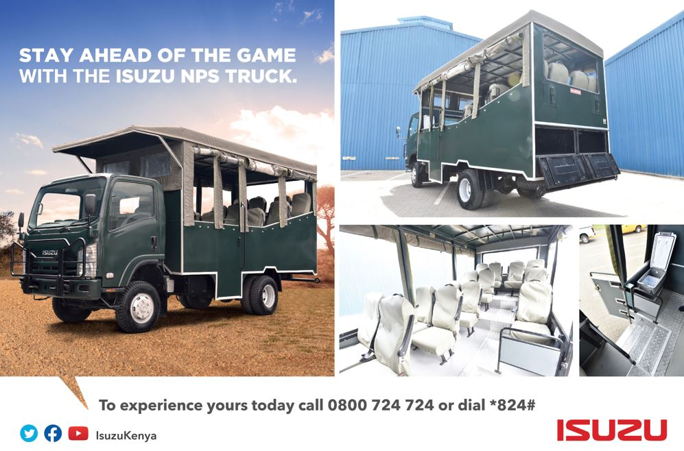 Isuzu NPS 4x4 Game Viewer Truck - Stay Ahead Of The Game