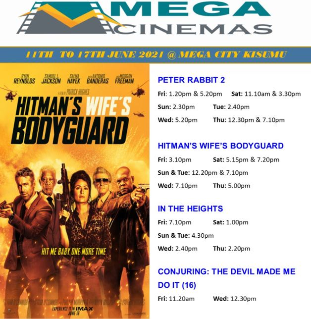 Mega Cinema Kisumu Week 23 Lineup