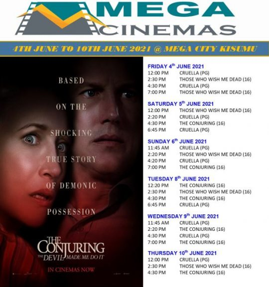 Mega Cinema Kisumu Week 22 Lineup