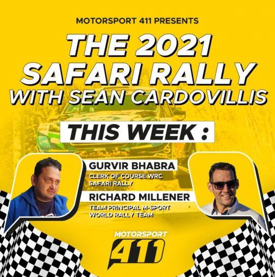 The 2021 Safari Rally with Sean Cardovillis Episode 4
