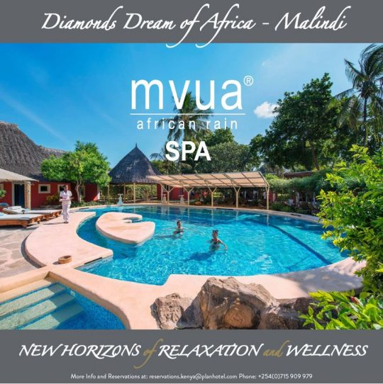 Mvua African Rain Spa