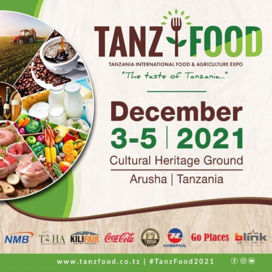 TANZFOOD 2021 - Tanzania International Food & Agriculture Expo