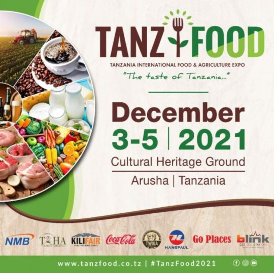 Tanzania International Food & Agriculture Expo - TANZFOOD 2021