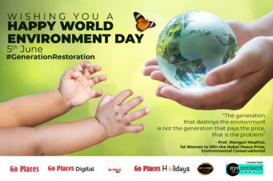 Happy World Environment Day from Go Places