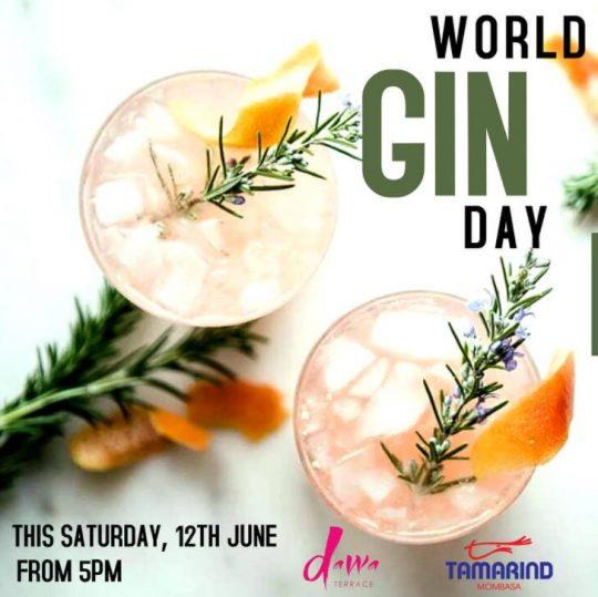 Join Us in Celebrating World Gin Day at Tamarind Mombasa this Saturday
