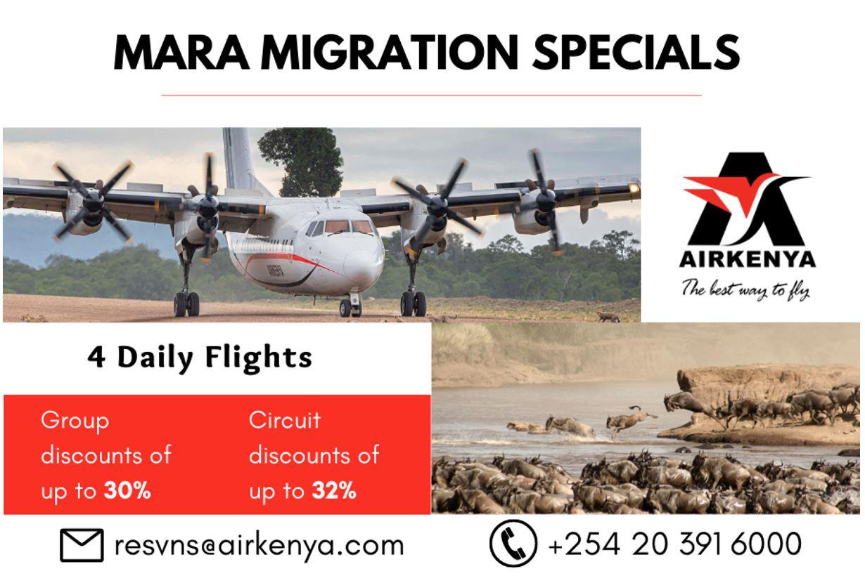 Airkenya Mara Migration Specials