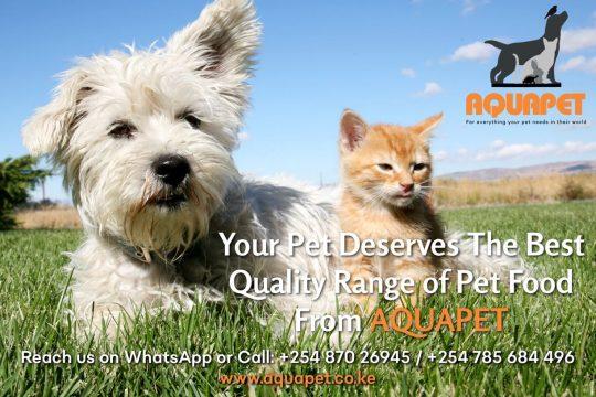 Quality Pet Food From Aquapet