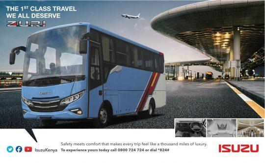 Embrace Luxury Transport on the Go - Zuri by Isuzu